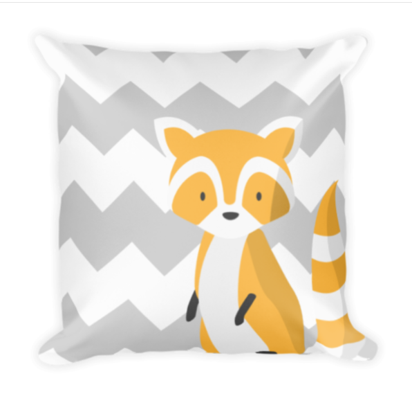 Fox Chevron Pillow Image